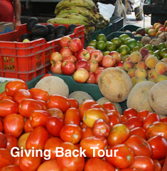 Giving back tour