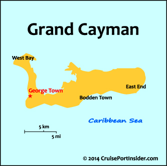 CruisePortInsidercom Cayman Islands Basics - Cruise ship schedule for grand cayman