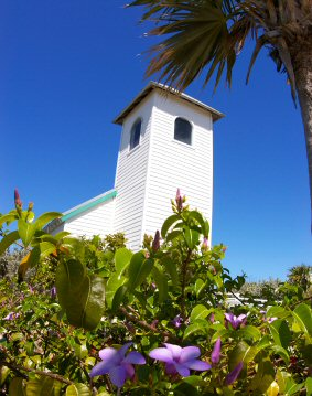 Church on Half Moon Cay