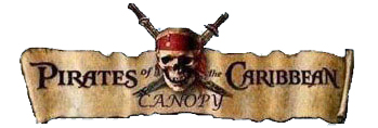 pirates of the caribbean canopy