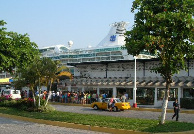 Cruise Terminal at Puerto Vallarta